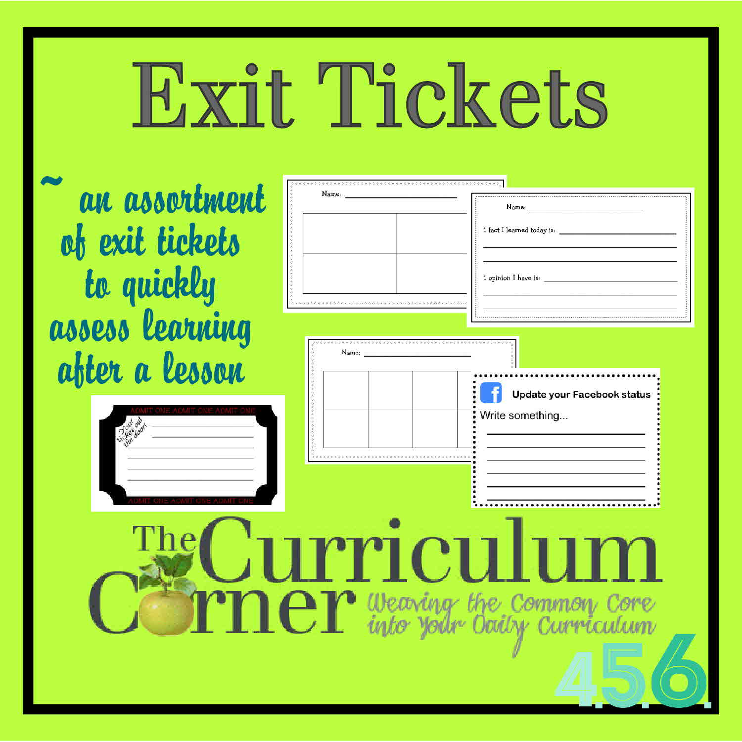 Open Door clipart ticket out The Corner by for 6