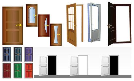 Open Door clipart wooden door Image Clip art Wooden open