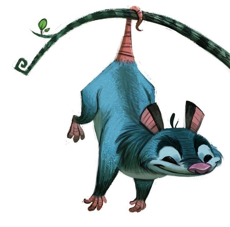 Opossum clipart Best Pinterest Villain about Opossum