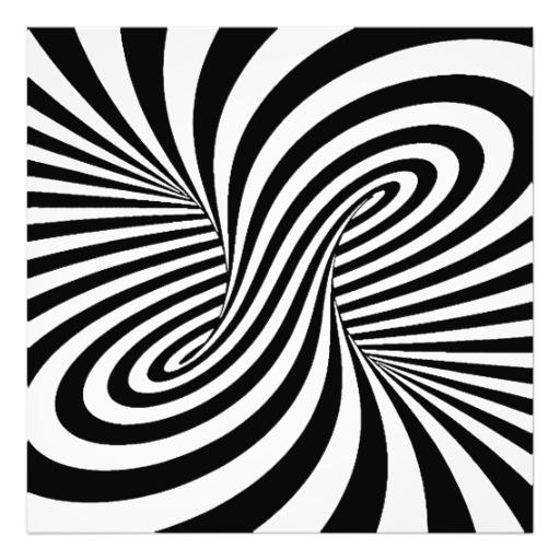 Optical Illusion clipart amazing illusion White photographic illusion Black swirls
