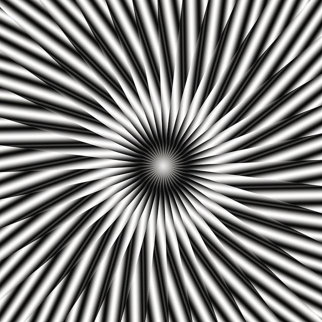 Optical Illusion clipart apparent motion #11