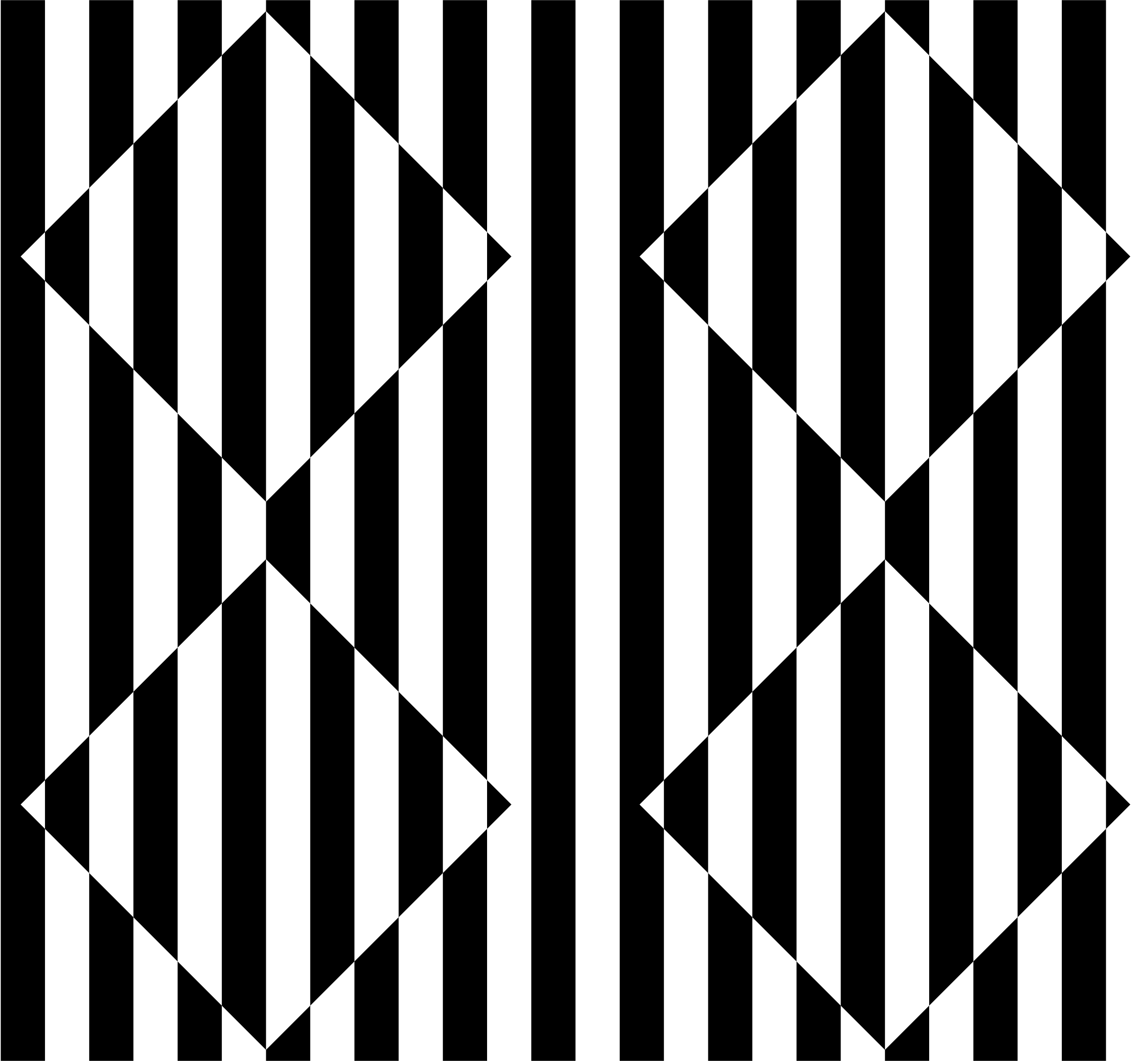 Optical Illusion clipart black and white Diamonds illusion 3D with 3D