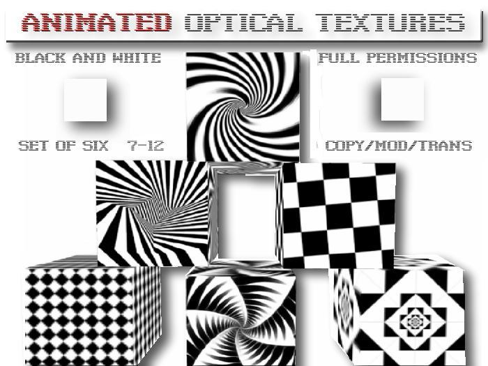 Optical Illusion clipart black and white  Marketplace Life & Textures