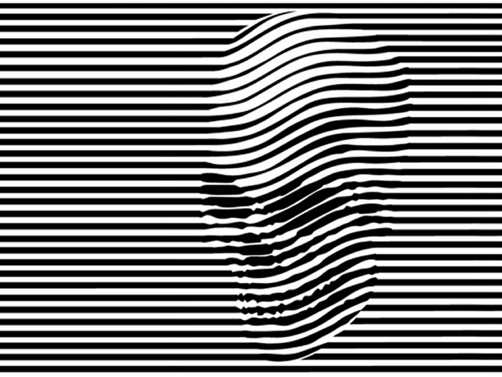 Optical Illusion clipart black and white On illusions white 44 optical
