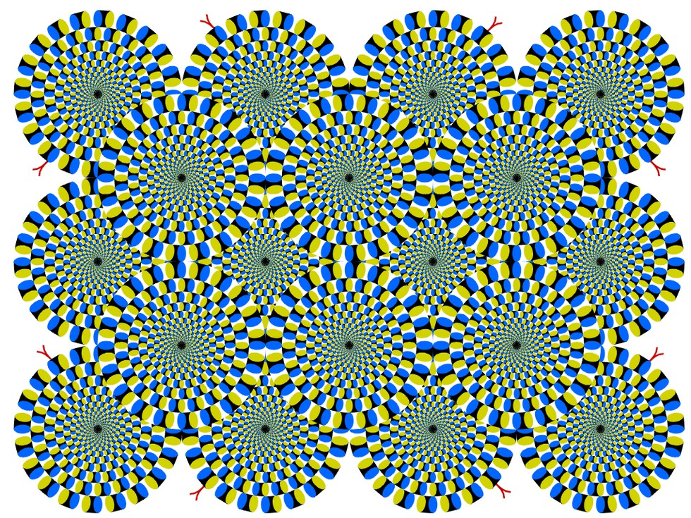 Optical Illusion clipart brain #12