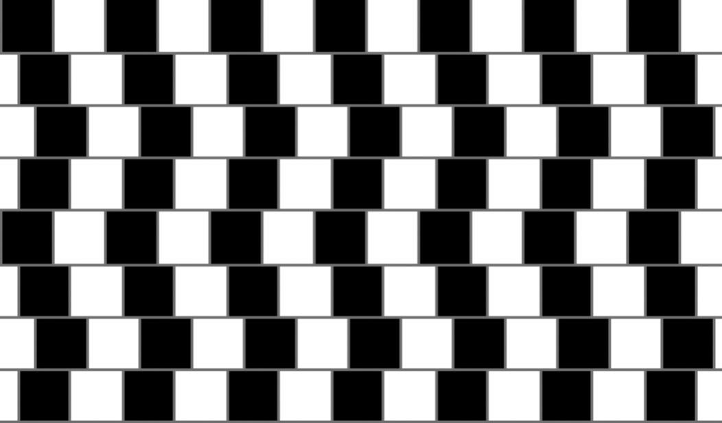 Optical Illusion clipart brain game #7