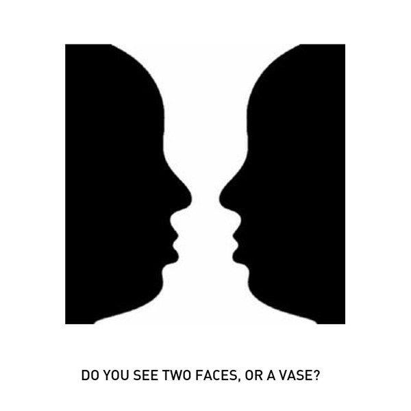 Optical Illusion clipart brain game #4