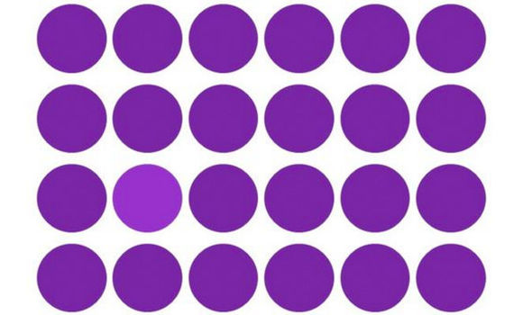 Optical Illusion clipart colourful Colours quiz OPTICAL This shows