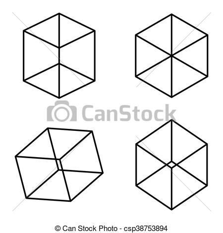 Optical Illusion clipart cube Cubes  optical takes illusion