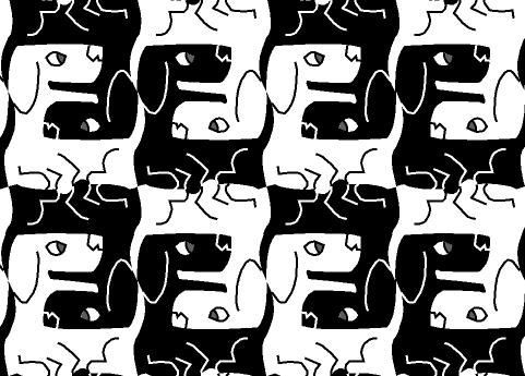 Optical Illusion clipart dog Optical best Object on Find