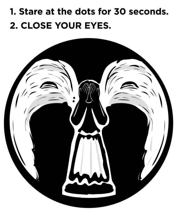 Optical Illusion clipart family #7
