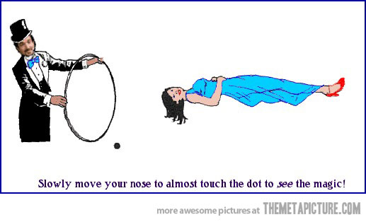Optical Illusion clipart funny #2