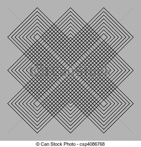 Optical Illusion clipart graphic design #6