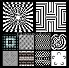 Optical Illusion clipart linear Pinterest by 怡香 Pin illusion