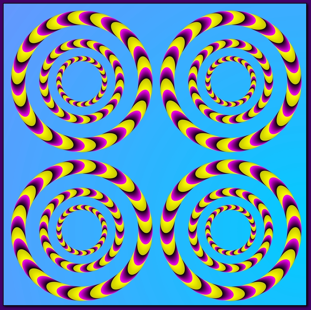Optical Illusion clipart magical Picture eye Illusions Illusions Moving