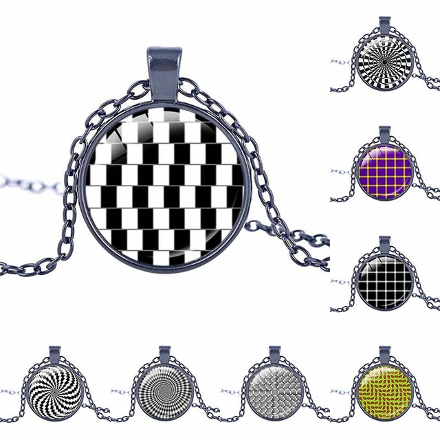 Optical Illusion clipart magical Magic necklace arrival necklace optical