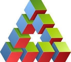 Optical Illusion clipart math Triangle Pinterest on IllusionsFun Impossible