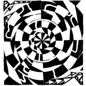 Optical Illusion clipart maze Polyvore optical Optical Mazes real