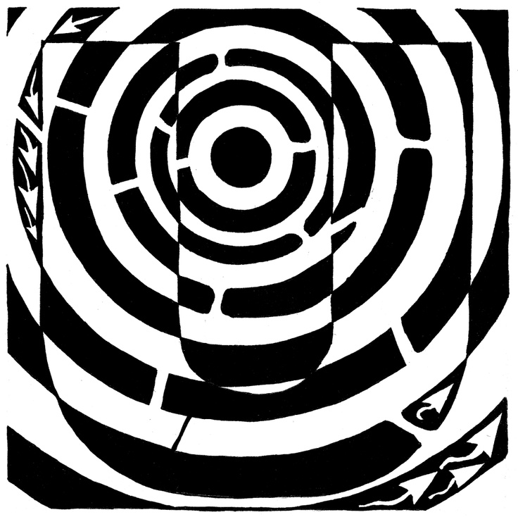 Optical Illusion clipart maze Op images about on escher