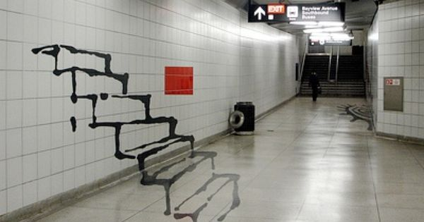 Optical Illusion clipart railway station Pinterest about on by subway