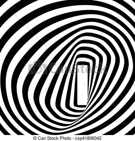 Optical Illusion clipart spiral And A illustration optical Vector
