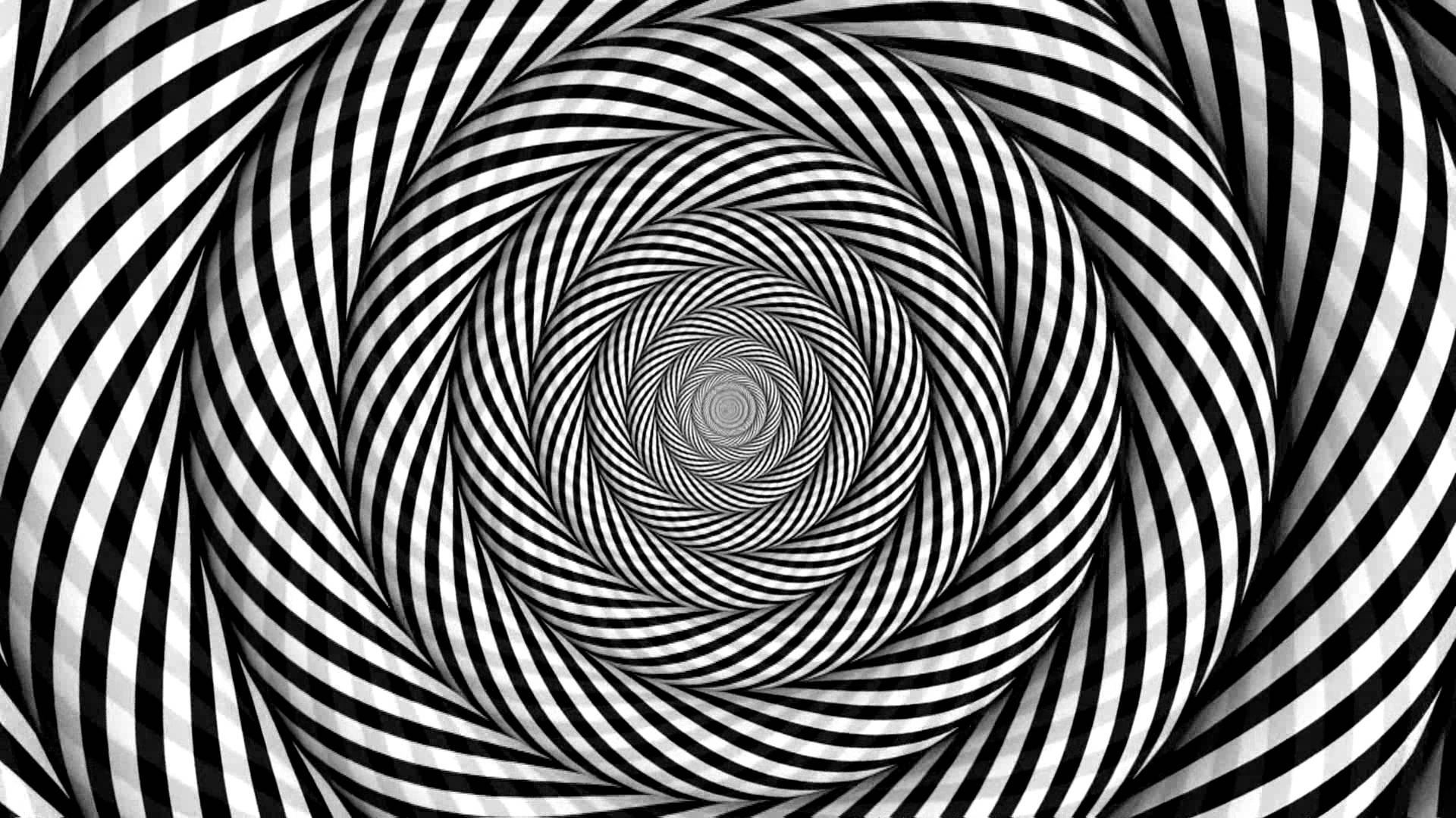 Optical Illusion clipart trippy Stare white black Pin and