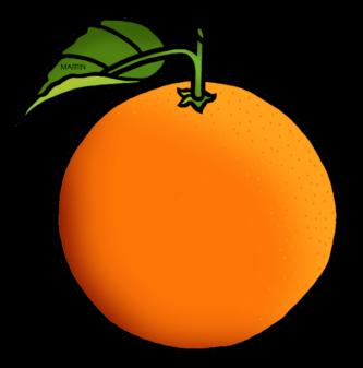 Orange clipart Orange #5670 Orange Cartoon ClipartPen