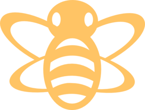 Bees clipart orange Art at Clip royalty Clip