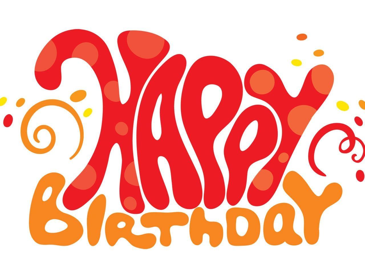 Birthday clipart orange Clipart Facebook Birthday facebook Kid