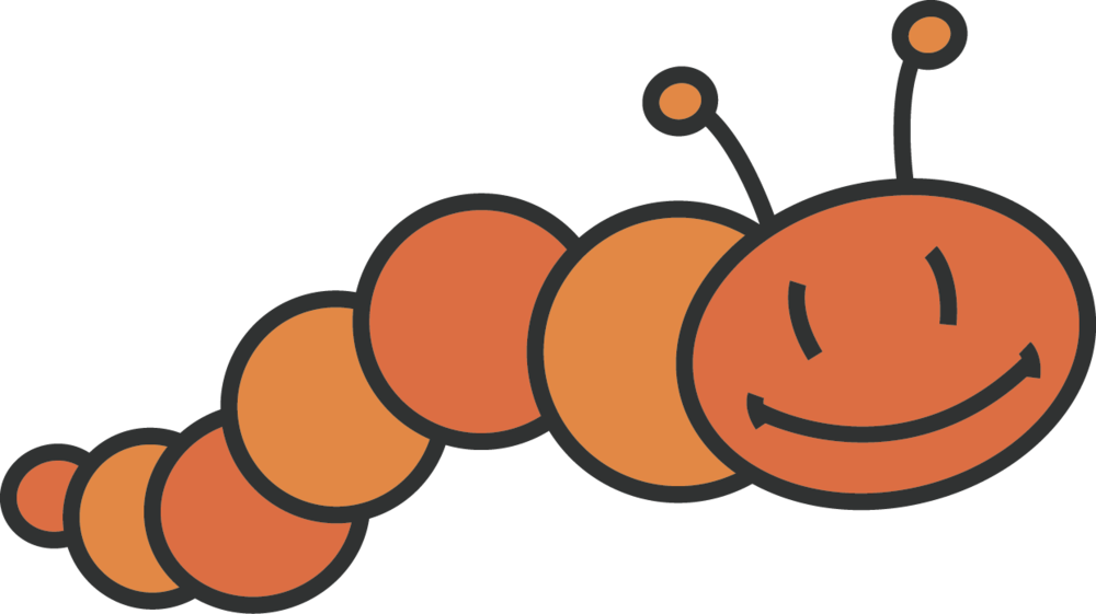 Caterpillar clipart orange Caterpillar Years Caterpillar? Support Orange