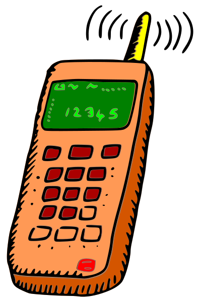 Orange clipart cell phone Clip Free Download Clip Free