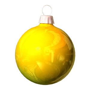 Yellow clipart ornament Ornaments clip art Polyvore graphics