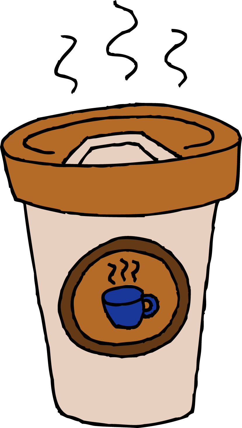 Coffee clipart on go Art Clipart #1107 Cup of