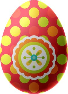 Orange clipart easter eggs  with Easter Pink Egg