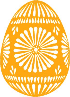 Orange clipart easter eggs ClipartMe Egg Clipart Clipart Easter
