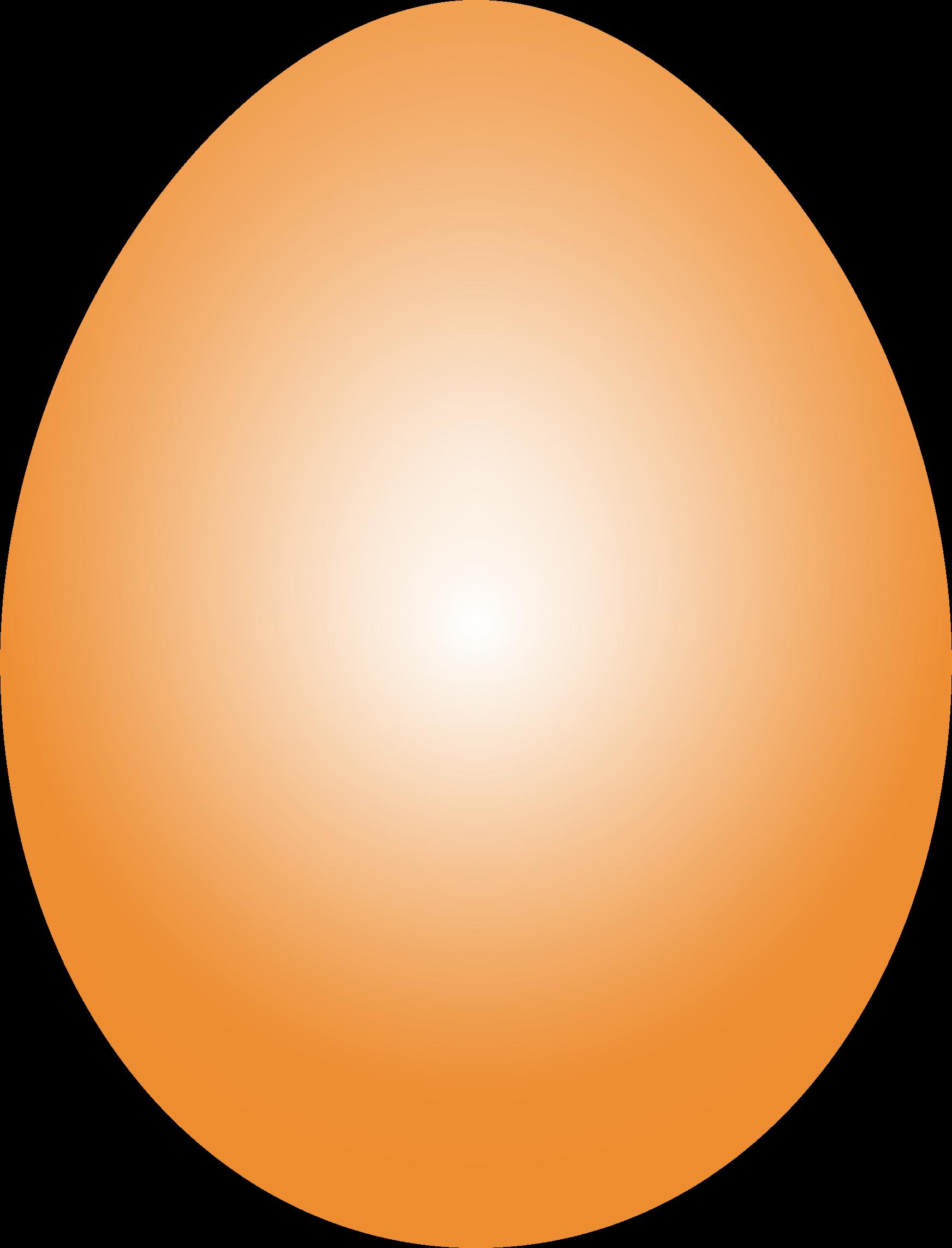 Orange clipart easter eggs Egg Orange Easter Clipart Egg