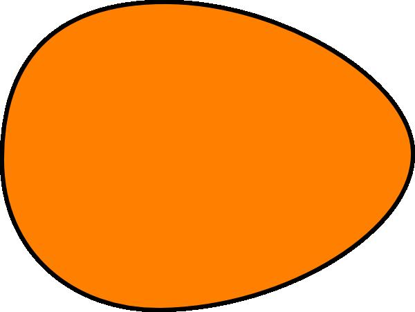 Orange clipart easter eggs Art online Clip Orange
