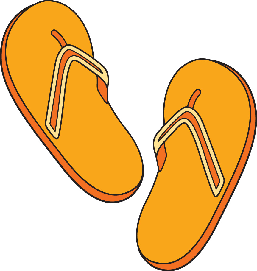 Sandal clipart for kid #2