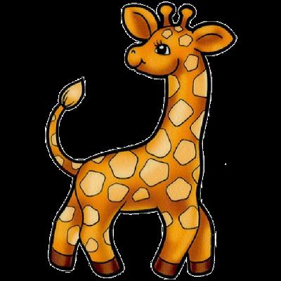 Animal clipart baby giraffe Giraffes Jungle Giraffes Giraffe Funny