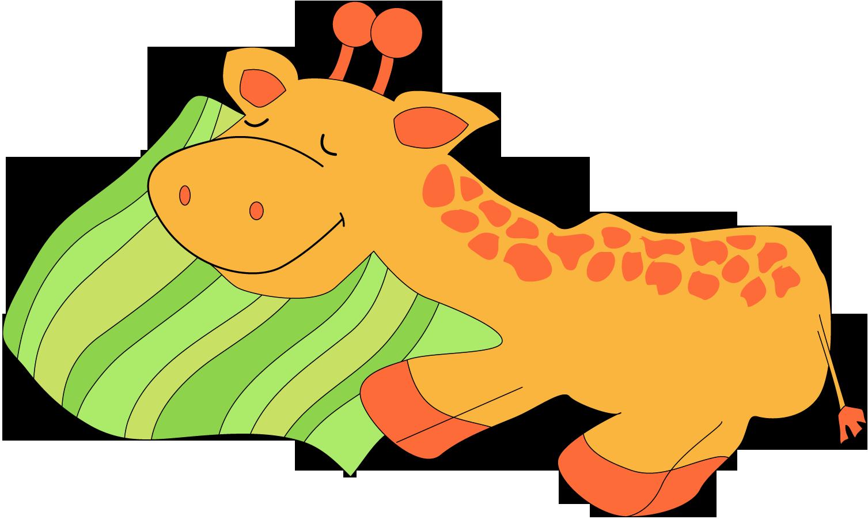 Giraffe clipart sleep Clipart Clipart Kids For Images