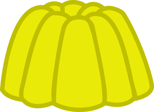 Yellow clipart gumdrop Royalty vector Clker this Gumdrop
