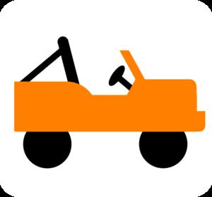 Orange clipart jeep Art com Jeep clip at