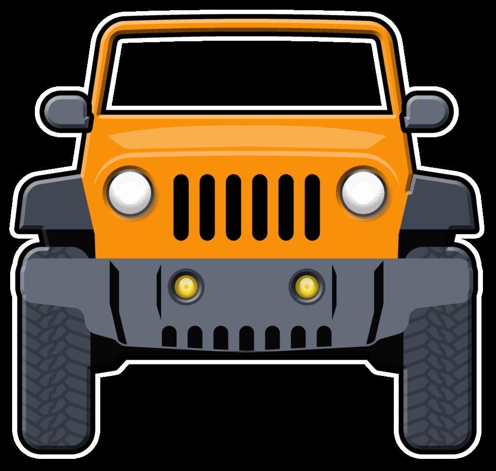 Orange clipart jeep Giant Props Giant POP