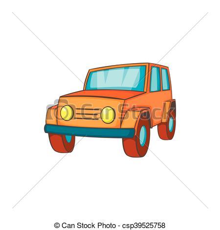 Orange clipart jeep  in Orange jeep icon