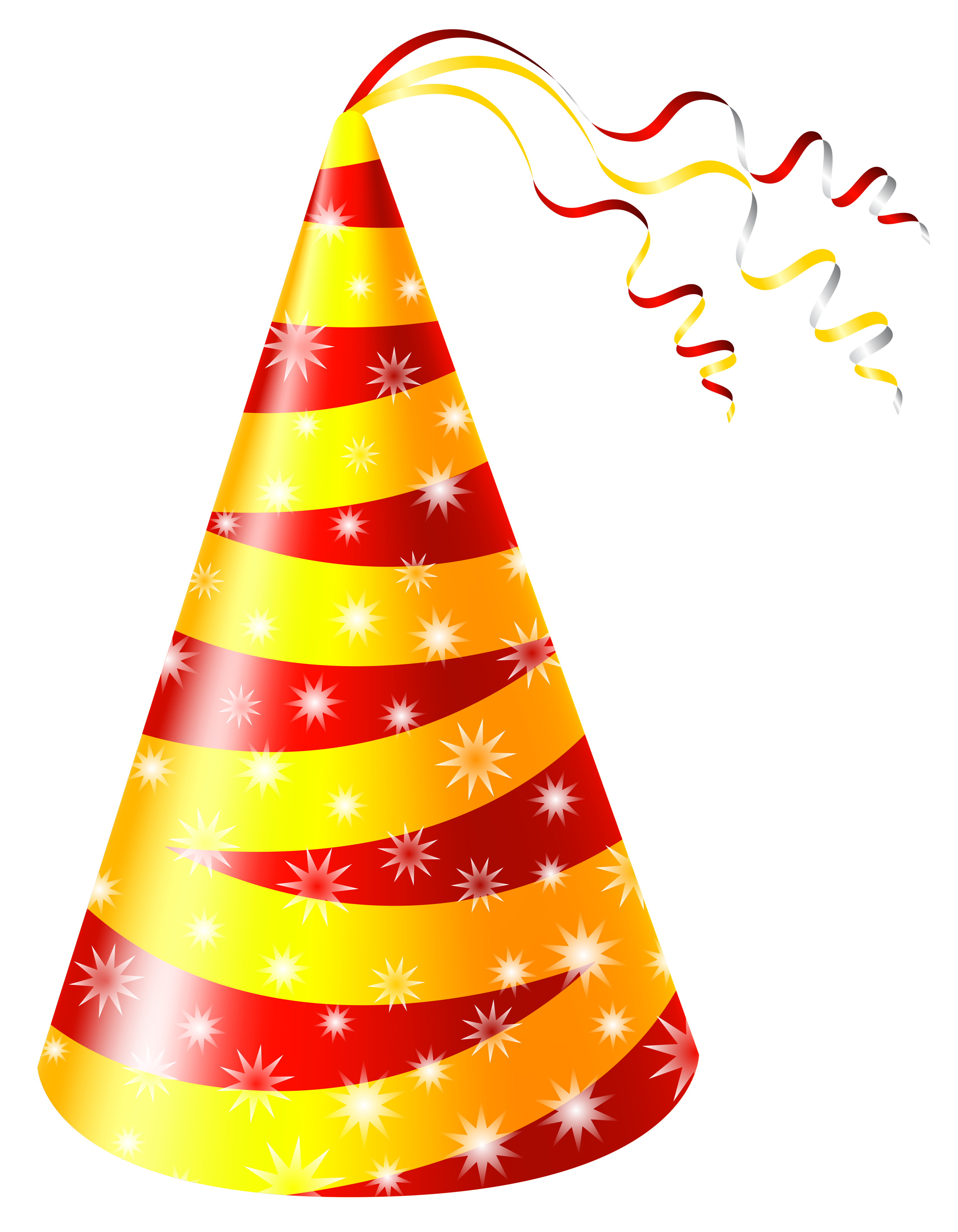 Hat clipart happy birthday And Yellow Yopriceville full Party