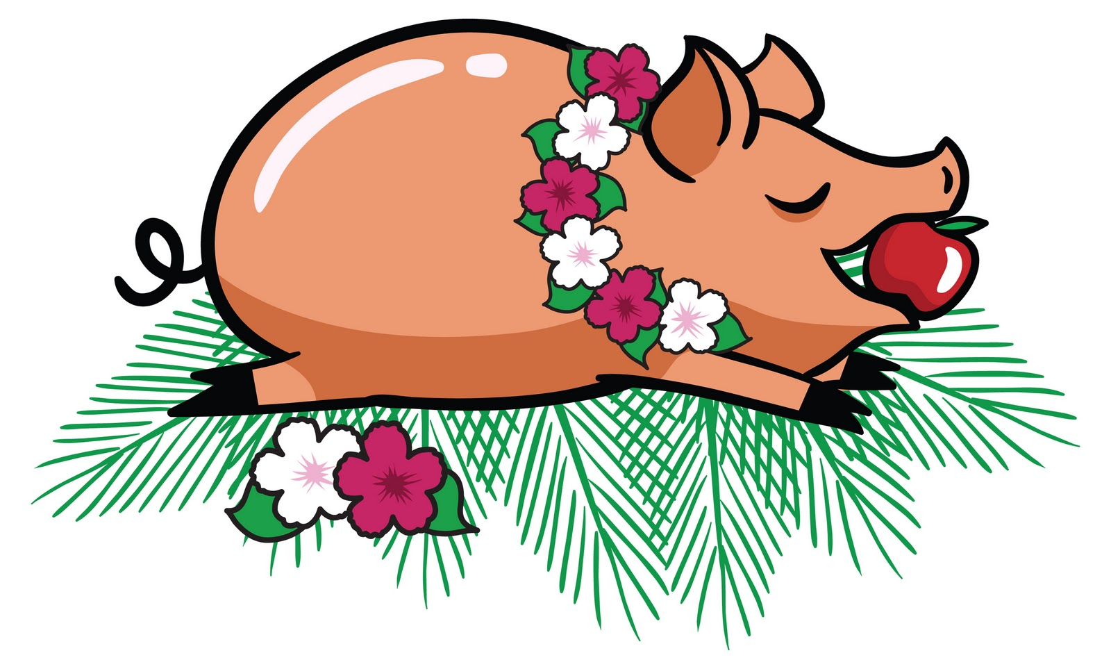 Pork clipart roasted pig Library Download Free Free Free