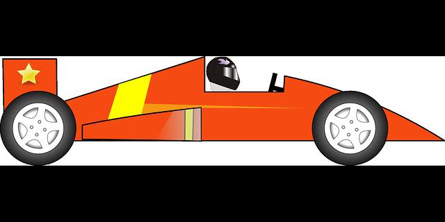 Race Car clipart vector Download ClipartAndScrap clipart clip Orange