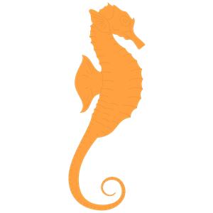 Orange clipart seahorse Blue%20seahorse%20clipart Clipart Panda Seahorse Blue