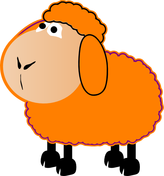 Sheep clipart colored Clip Art  com art