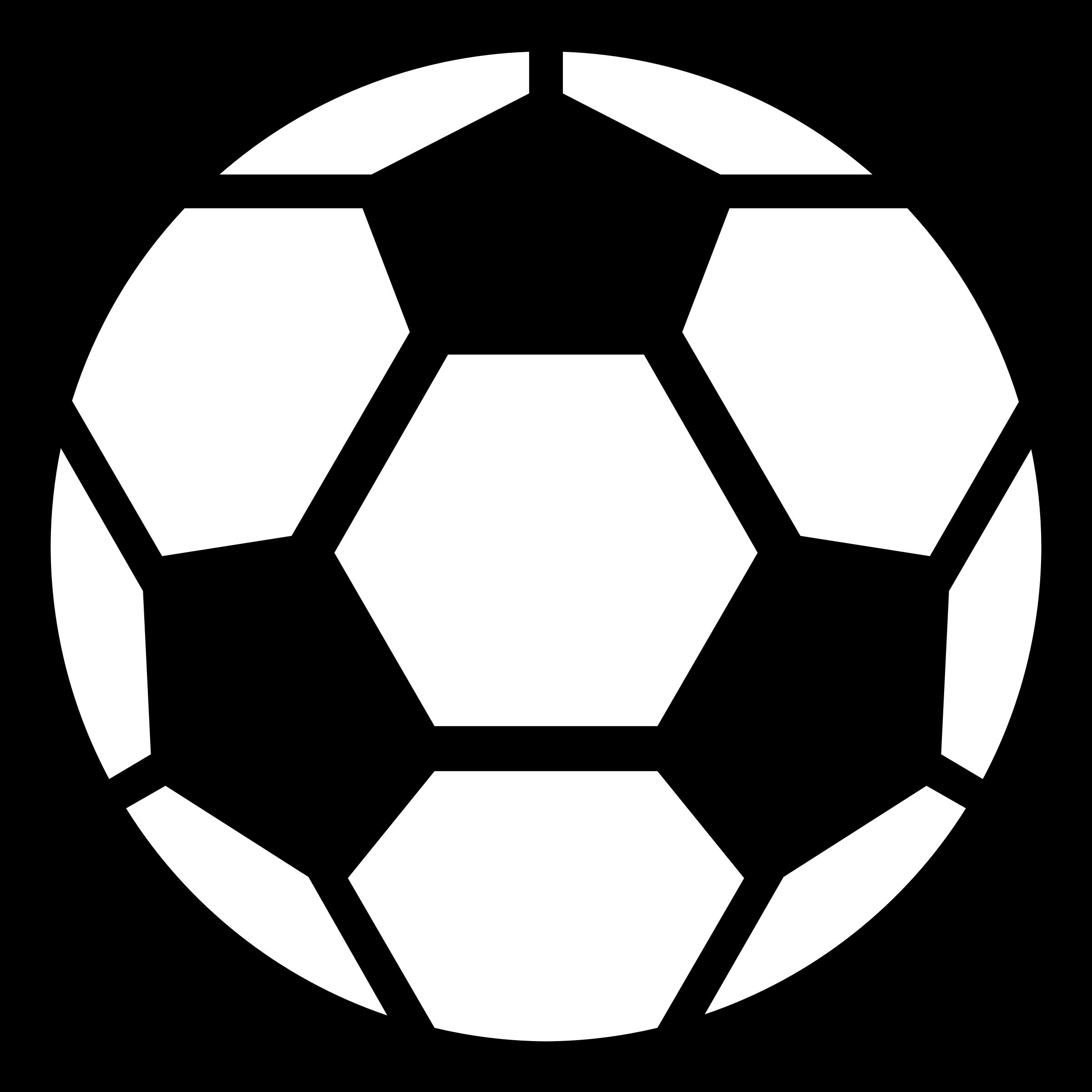 Simple clipart soccer ball Ball Clipart clipartcow soccer clip